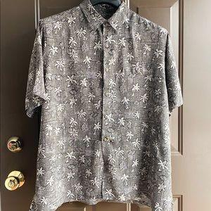Batik Bay short sleeved button down shirt.